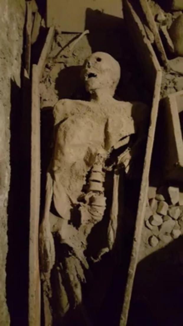 Crypt: The 800-year-old Crusader from St Michan's