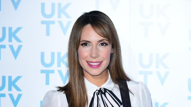 Alex Jones announced that she is pregnant with her second baby before Christmas (Ian West/PA)