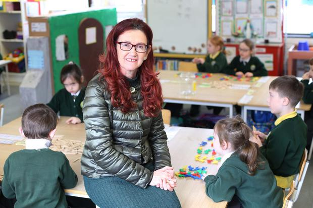 Teresa Ward, principal of Scoil Naomh Brid in Muff, Co Donegal, says homework acts as an important link between school and home. Photo: Lorcan Doherty