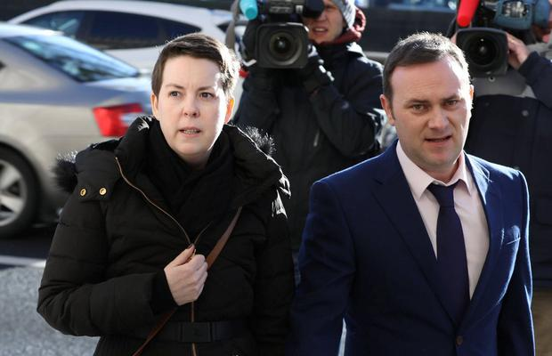 Terminal diagnosis: Ruth Morrissey sued over alleged misreadings of her CervicalCheck slides. Photo: Collins Courts
