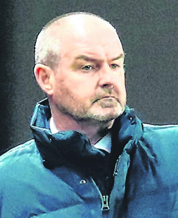 Kilmarnock boss Steve Clarke who last week criticised the sectarian chanting that's still prevalent in Scottish football. Photo: Jane Barlow/PA Wire
