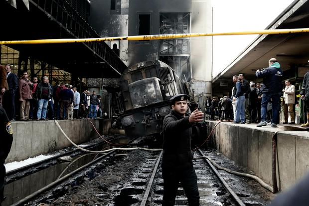 Train station fire kills at least 20, injures dozens in Cairo