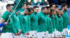 'Rugby is psychological warfare. Do not underestimate its effect, not only on the Irish team but also on the Irish nation' Photo: Reuters