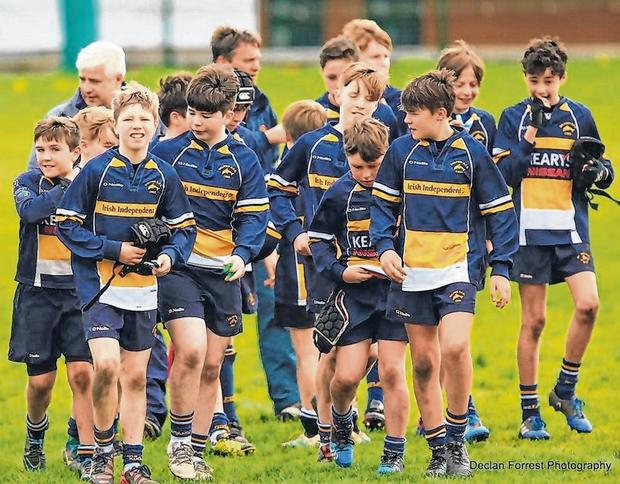 U-13 who won the league bowl beating a strong Skibbereen