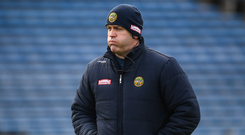 Offaly manager Kevin Martin. Photo: Harry Murphy/Sportsfile