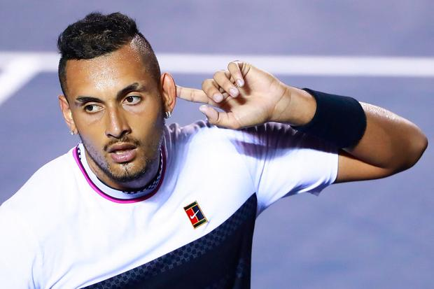 Nick Kyrgios in X-rated rant about Rafael Nadal during Stan Wawrinka match
