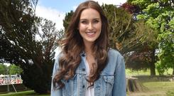 Model turned cookbook author Roz Purcell