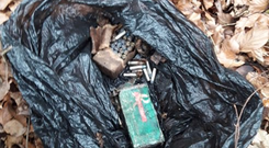 Gardai have seized Semtex explosives as well as rifles and ammunition