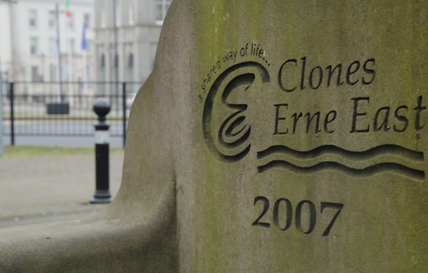 Clones, Co Monaghan lies on border of Fermanagh in Northern Ireland.