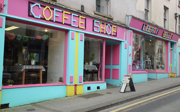 Liberty Belle shop and coffee shop in Clones, Co Monaghan