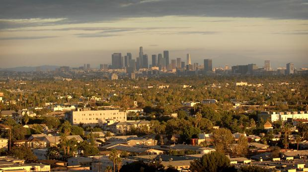 A general view of Los Angeles (Stefan Rousseau/AP)