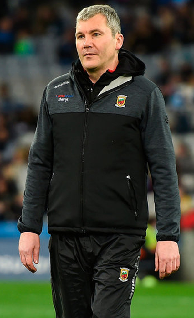 Mayo manager James Horan. Photo: Daire Brennan/Sportsfile