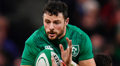 Ireland's Robbie Henshaw should be back to face the French. Photo: Getty Images