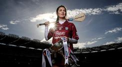 St Martin's Katie O'Connor is looking forward to taking on Derry's Slaughtneil in theAll-Ireland senior camogie club championship final at Croke Park tomorrow. Photo: INPHO