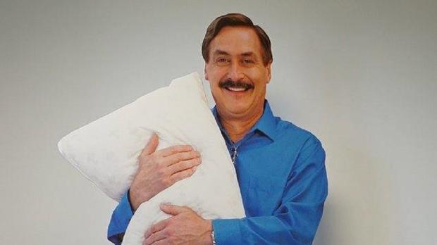 The cutout of local millionaire and inventor Mike Lindell alarmed a local resident (Credit: Jordan Police Department/PA)