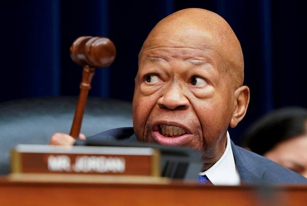 Chairman of the House Committee on Oversight and Reform Committee Elijah Cummings. Photo: Reuters