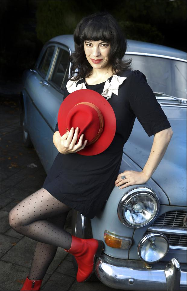 LEADING LADY: Camille O'Sullivan will headline the 'Sunday Independent' Rock Against Homelessness Concert in aid of Focus Ireland at the Olympia Theatre in Dublin on April 23. Picture: David Conachy