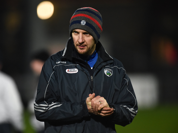 Laois manager John Sugrue. Photo by Oliver McVeigh/Sportsfile