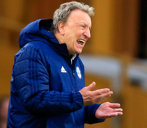 Cardiff manager Neil Warnock. Photo: Getty Images
