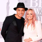 Jade Jones and Emma Bunton attends The BRIT Awards 2019 held at The O2 Arena on February 20, 2019 in London, England. (Photo by Jeff Spicer/Getty Images)