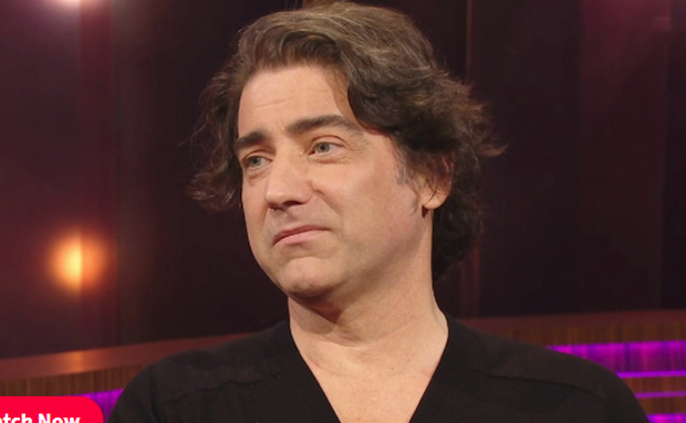 Brian Kennedy tells Ray D'Arcy about his surgery and treatment for colorectal cancer. Photo: RTE