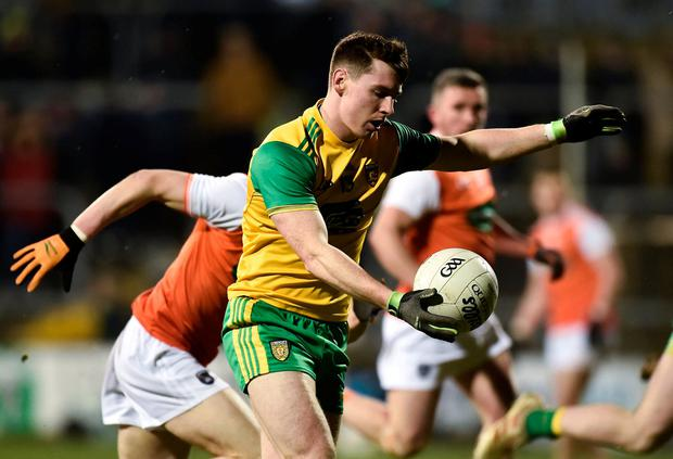 Donegal's Jamie Brennan in action. Photo: Oliver McVeigh/Sportsfile