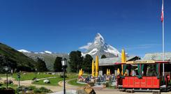 Riffelalp Resort 2222m is located in an area of exceptional beauty, with an unimpeded view of the Matterhorn, the world's most photographed peak