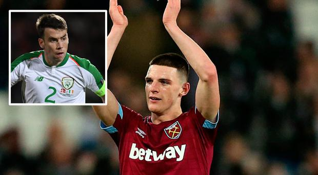 'You're talking about an English player' - Seamus Coleman says it's time to forget about Declan Rice