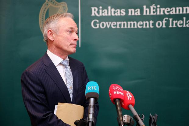 Richard Bruton. Photo: Mark Condren