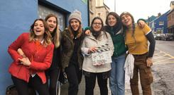 Emma Wall and her team of filmmakers