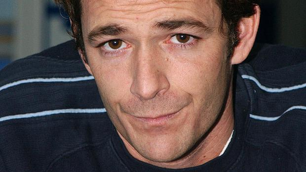 Luke Perry was a heartthrob in Beverly Hills 90210 (Anthony Harvey/PA)