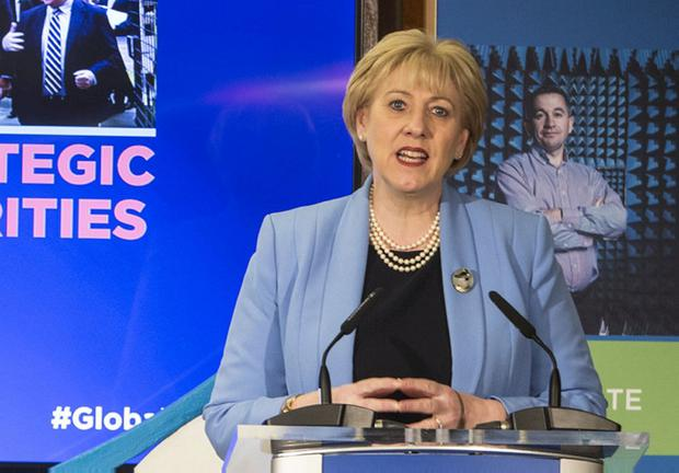 Message: Heather Humphreys, Minister for Business. Photo: Colin O'Riordan
