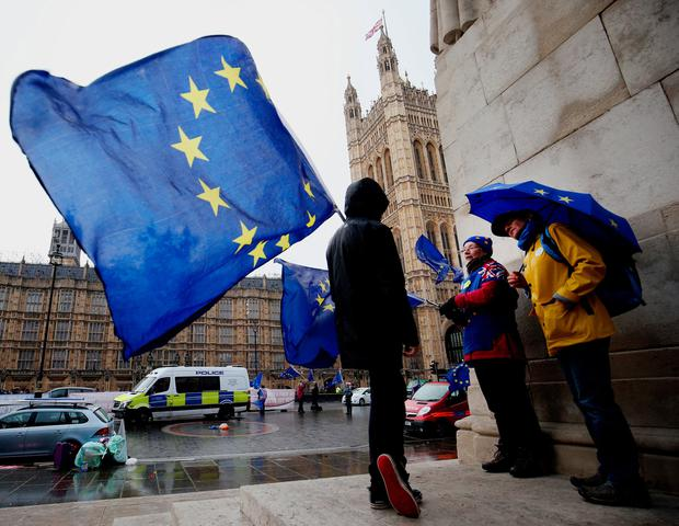 The outcome for 2019 however will depend on whether Britain leaves the European Union with a deal, or crashes out on March 29 without one. Photo: PA
