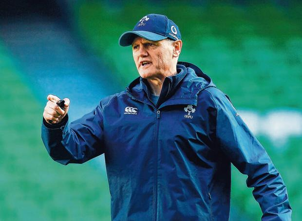 Ireland boss Joe Schmidt. Photo: Sportsfile