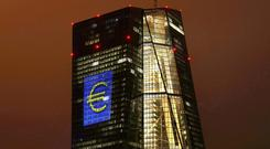 The headquarters of the European Central Bank (ECB) in Frankfurt, Germany. Photo: REUTERS