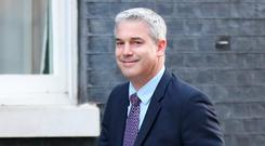 Negotiating team: UK Brexit Secretary Stephen Barclay is back in Brussels for further talks with the EU today. Photo: Jonathan Brady/PA Wire