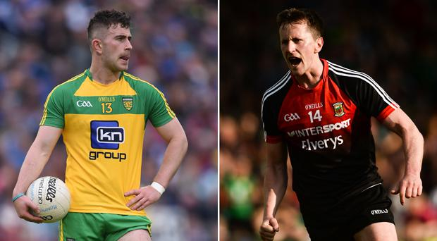 Paddy McBrearty and Cillian O'Connor