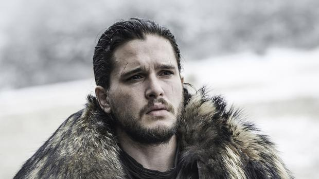 Kit Harington returns as Jon Snow in the final series of Game of Thrones (HBO/Sky/PA)