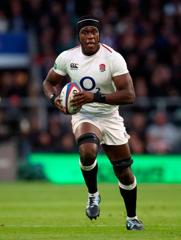 Itoje's participation against Italy is now in real doubt. Photo: Adam Davy/PA Wire.