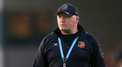 Bernard Jackman left his role as Dragons head coach last December. Photo by Chris Fairweather/Sportsfile