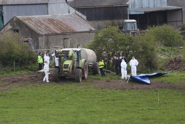 Bobby Ryan's body was found in a slurry tank when it was drained in April 2013 at Mary Lowry's farm.