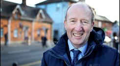 Committed: Transport Minister Shane Ross. Photo: Steve Humphreys
