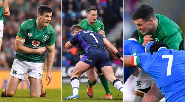 Johnny Sexton has been targeted in the first three games of the Six Nations