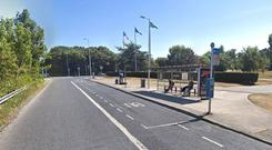 UCD bus stop on the Stillorgan Road flyover (Photo: Google Maps)