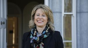Pictured at NovaUCD is Tracy O'Rourke, CEO and Founder of Vivid Edge, an energy efficiency specialist company.