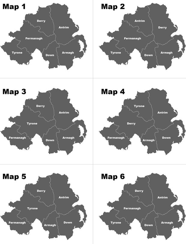 Map Of Northern Ireland Counties.Watch Can You Name And Locate The Six Counties Of Northern Ireland