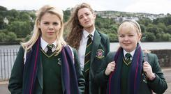 Top form: Popular comedy 'Derry Girls' is back on our screens
