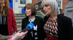 The issue was raised when Clodagh Hawe's sister Jacqueline Connolly and mother Mary Coll met Mr Flanagan last week. Photo: Gareth Chaney, Collins