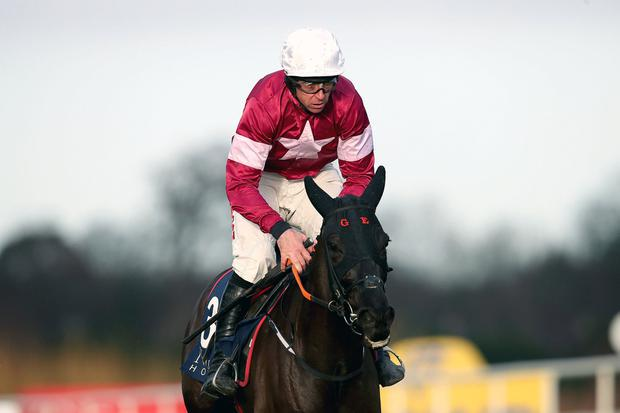 Davy Russell on Delta Work. Photo: INPHO/Bryan Keane
