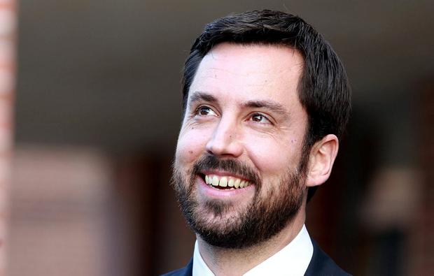 Spin: Housing Minister Eoghan Murphy tried to turn home loan scheme into good news. Photo: Frank McGrath